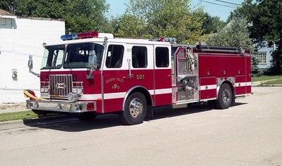 CHERRY VALLEY FPD  ENGINE 501  1997  E-ONE  CYCLONE II1   500-1000