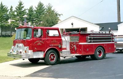 CHERRY VALLEY FPD  ENGINE 502  1969 MACK CF   1000-500   1972 PIERCE REHAB