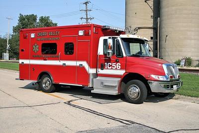 CHERRY VALLEY FPD  AMBULANCE  C-56  2006  IHC 4300 - MEDTEC   #6561