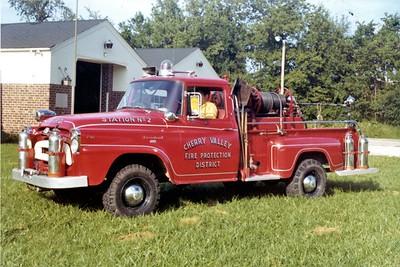 CHERRY VALLEY FPD BRUSH 564   1957  IHC - FIRE FIGHTER    JDS PHOTO