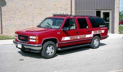 CHERRY VALLEY FPD  CAR 590  1997  GMC SUBURBAN