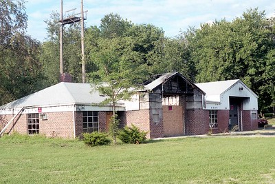 CHERRY VALLEY FPD - LOG CABIN ARBOR STATION  (ROCKFORD)   DESTROYED BY FIRE