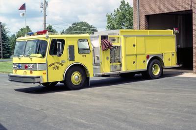 CHERRY VALLEY FPD  TANKER 573  1988  E-ONE HURRICANE   500-1500   #5938