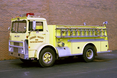 CHERRY VALLEY FPD  TANKER 573  1974  MACK MB - WELCH   250-`1200