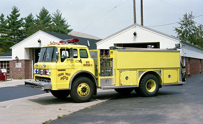 CHERRY VALLEY FPD  TANKER 572   1979  FORD C - E-ONE   250-1250