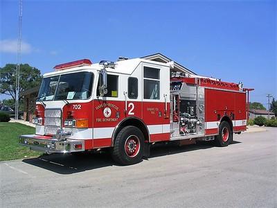 HARLEM - ROSCOE FPD  ENGINE 702  2005  PIERCE ENFORCER   1500-1000-25A   #16071