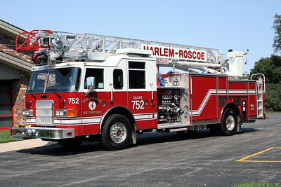 HARLEM - ROSCOE FPD  QUINT 752  2007  PIERCE ENFORCER   1500-450-50A-75'   #18871