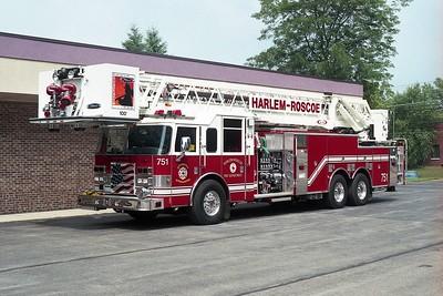 HARLEM ROSCOE FPD  TRUCK 751  2002  PIERCE DASH   2000-350-100' PAP