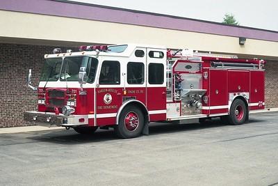 HARLEM ROSCOE FPD ENGINE 701  2002  E-ONE TYPHOON   1250-1000-30F