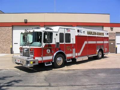 HARLEM - ROSCOE FPD  SQUAD 741  2006  HME 1871 - ALEXIS   #S-S-629