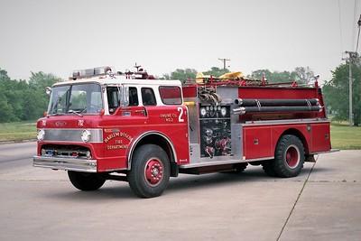 HARLEM ROSCOE FPD  ENGINE 702  1975  FORD C - PIERCE   1000-1000