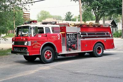 HARLEM ROSCOE FPD  ENGINE 703   1973 FORD C8000 - PIERCE   1000-1000