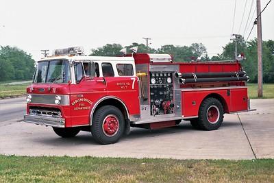 HARLEM ROSCOE FPD  ENGINE 707   1980 FORD C800 - PIERCE  1000-750