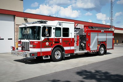 HARLEM ROSCOE FPD  ENGINE 701  2012  HME 1871 - ALEXIS   1500-750-40F   #2145