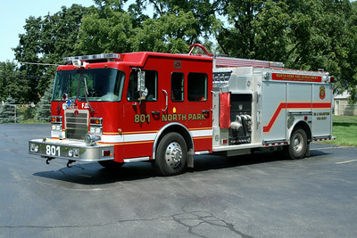 NORTH PARK ENGINE 801  SPARTAN -