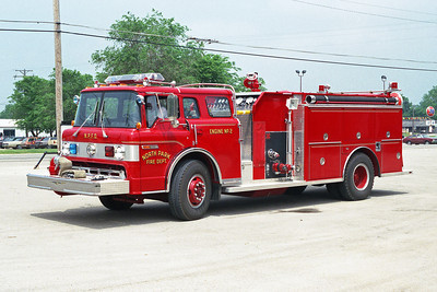 NORTH PARK FPD  ENGINE 802  1987 FORD C8000 - 3D 1000-1000