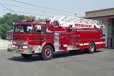 NORTH PARK FPD  TRUCK 854