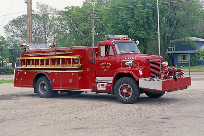 NORTH PARK FPD  ENGINE 7  1976 IHC-HOWE  750-1000