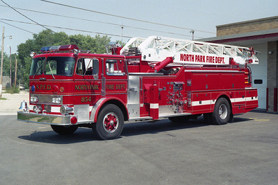 NORTH PARK FPD  ENGINE 854  REHAB