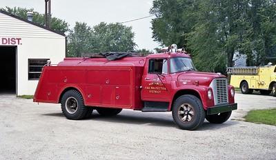 NORTHWEST FPD   TANKER  1203  1977  IHC LOADSTAR - 1954 PROGRESS   0-1200