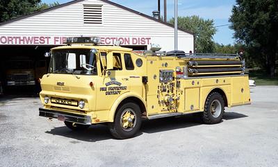 NORTHWEST FPD   ENGINE  1202   GMC 5500 - HOWE