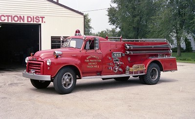 NORTHWES FPD  ENGINE 1201  1953  GMC - HOWE   500-500