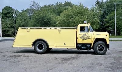 NORTHWES FPD  TANKER 1206  1977  IHC LOADSTAR - FREEPORT METALS   0-1600   OFFICERS SIDE
