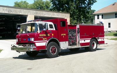 ROCKFORD  ENGINE 1   FORD C8000 - DARLEY