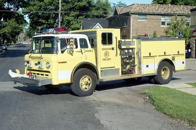 ROCKFORD  ENGINE 2  1990 FORD C8000 - DARLEY  1000-500