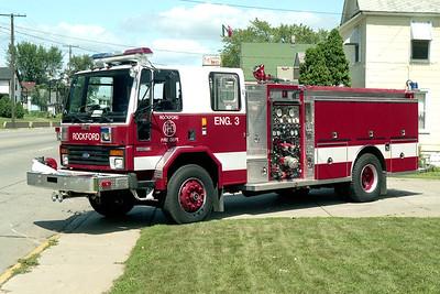 ROCKFORD  ENGINE 3  FORD C - DARLEY