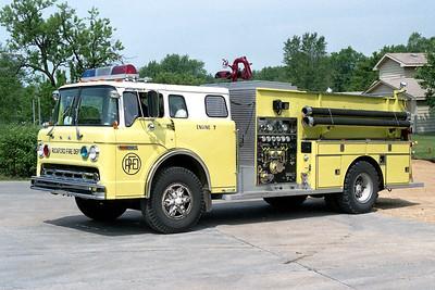 ROCKFORD  ENGINE 7  FORD C8000 - DARLEY