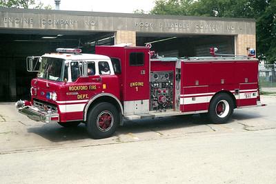 ROCKFORD ENGINE 1  FORD C8000 - DARLEY  REPAINTED