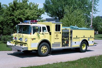 ROCKFORD  ENGINE 4  FORD C8000 - DARLEY