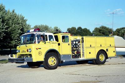 ROCKFORD ENGINE 10  FORD C8000 - DARLEY