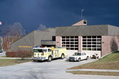 ROCKFORD FD  STATION 4 WITH STORM CLOUDS