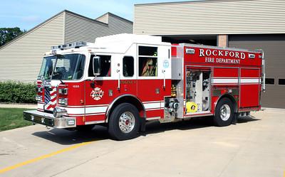 ROCKFORD FD ENGINE 4 PUMP EXPOSED