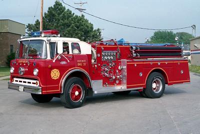 SOUTH BELOIT FD  ENGINE 33  1963  FORD C1000 - HOWE   1000-500