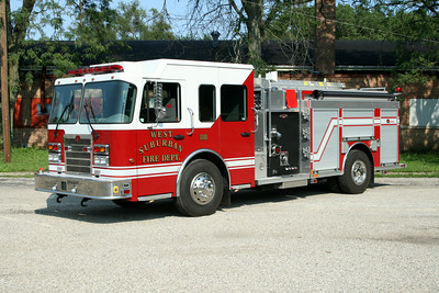 WEST SUBURBAN FPD ENGINE 1101