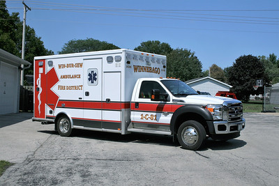 WIN-BUR-SEW  AMBULANCE 1-C-81