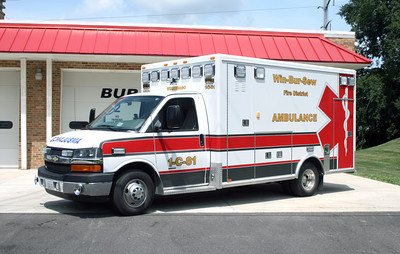 WIN-BUR-SEW FPD  AMBULANCE 1-C-81