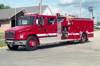 WINNEBAGO COUNTY FPD  ENGINE 1605  1998  FREIGHTLINER FL80 - ALEXIS   1250-1000   1654