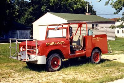 WINNEBAGO COUNTY FPD  BRUSH 1603  1971  FORD BRONCO - FD BUILT   100-200    JDS PHOTO