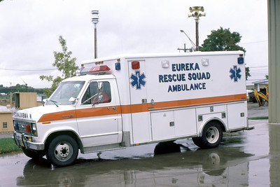 EUREKA  RESCUE SQUAD  FORD E - HORTON   JEFF SCHIELKE PHOTO