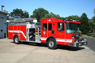 GERMANTOWN HILLS  ENGINE 1606  HME - CENTRAL STATES