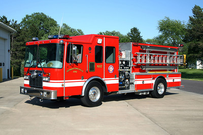 GERMANTOWN HILLS  ENGINE 1602  HME - CENTRAL STATES