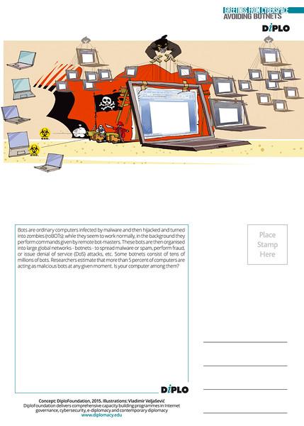 Postcard - Avoiding botnets