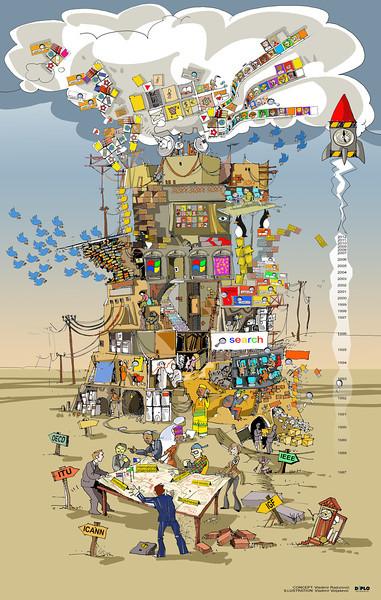 Digital tower of Babel