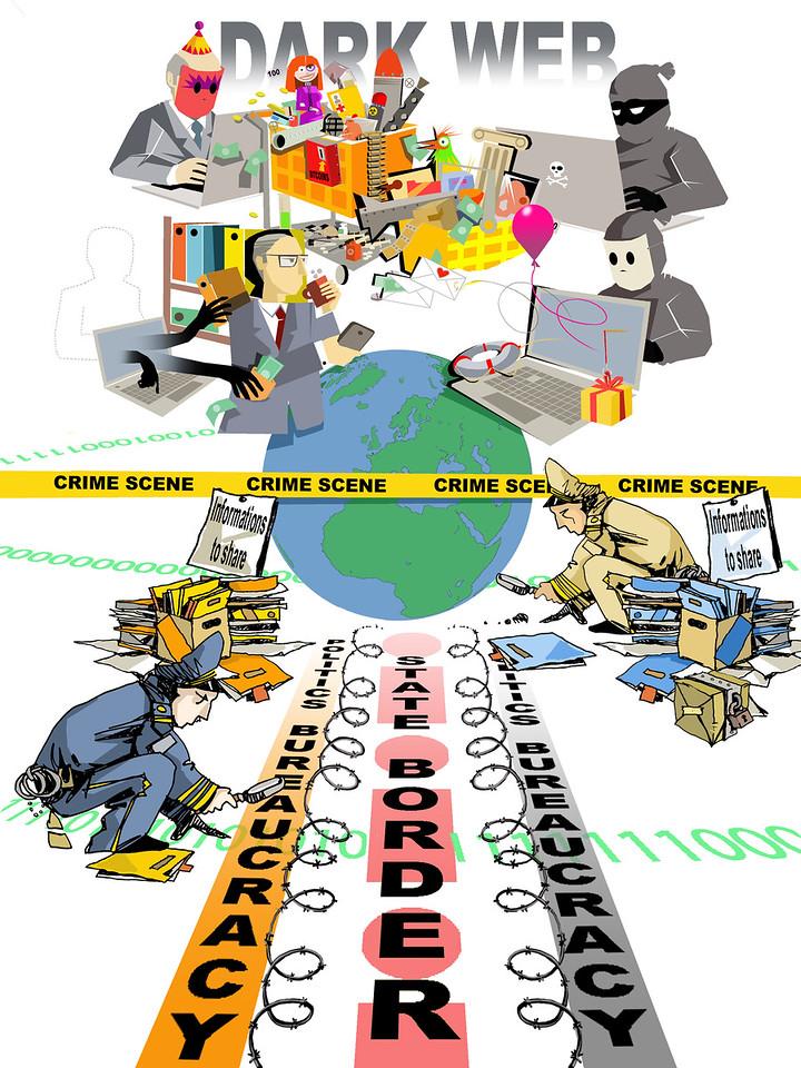 The Challenges of Dark Web