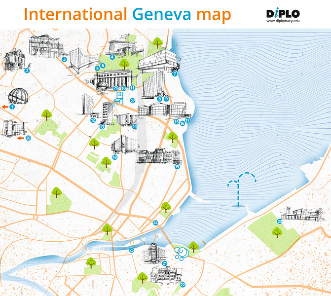 International GENEVA map