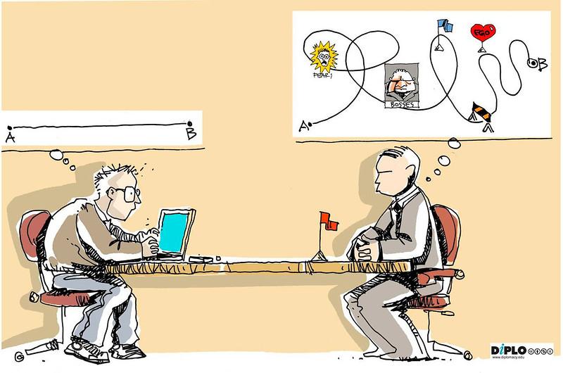Engineers vs diplomats